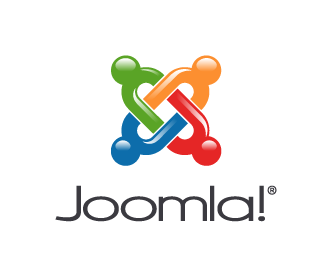 Joomla 3D Vertical logo light background en